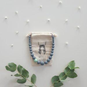collier de portage allaitement dentition en silicone alimentaire