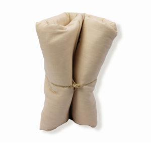 couverture made in france en coton bio et rembourée