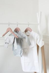 legging kimono de naissance et body pour trousseau de naissance parfait