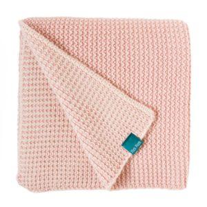 couverture en maille tricotée coton plick plock