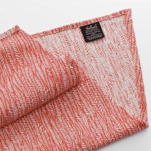 echarpe de portage tendance rouge corail