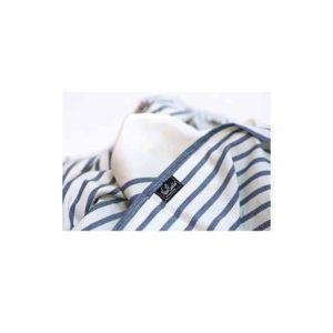 porte bébé physio marinière bleu