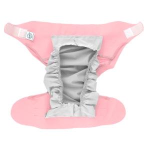 couche lavable pratique et jolie rose pour bébé