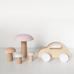 jouet et décoration en bois pour bébé