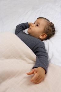 couverture ou tapis d'eveil en coton bio