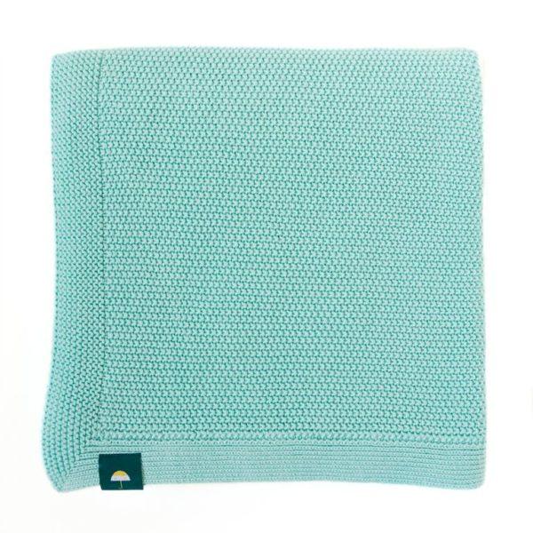jolie couverture de naissance pour bébé en coton