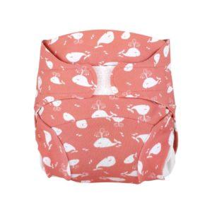 couche lavable hamac baleina rosa facile a utiliser