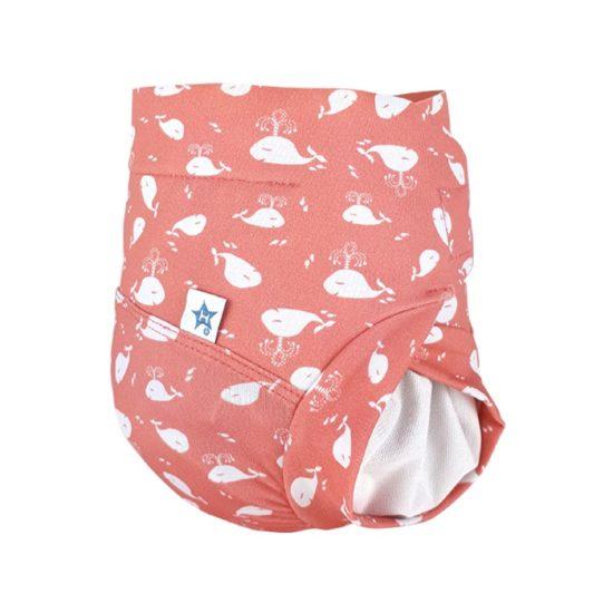 jolie couche lavable anti fuite pour bébé