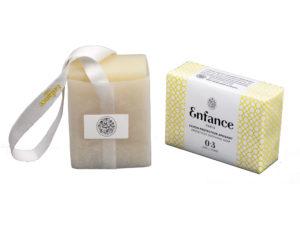 savon joli emballage pour trousseau de naissance bébé