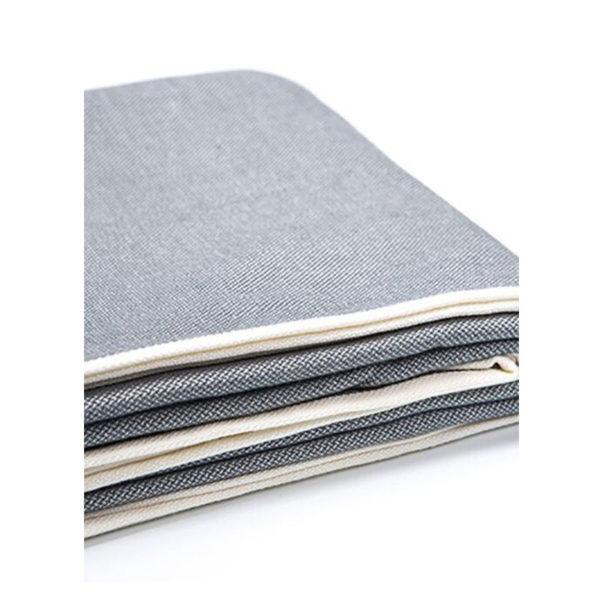 écharpe de portage unie en coton tissé made in france