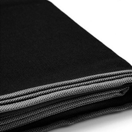 echarpe de portage phsyio noire unie