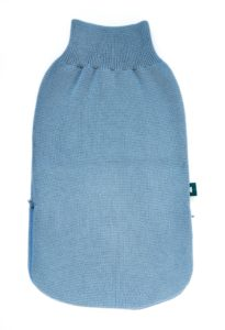 turbulette bleu pour bébé pratique