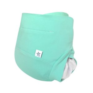 couche lavable made in france vert bleu