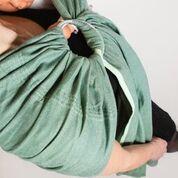 sling echarpe sans noeud vert menthe mint