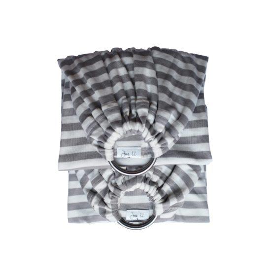 double sling de portage physio gris
