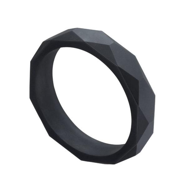 bracelet noir machouillable par bébé
