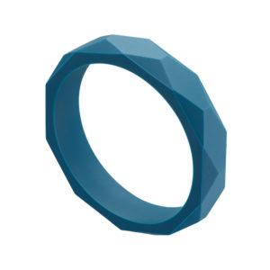 bracelet bleu canard anneau de dentition pour soulager les gencives de bébé