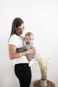 echarpe de portage physiologique sling pour bébé