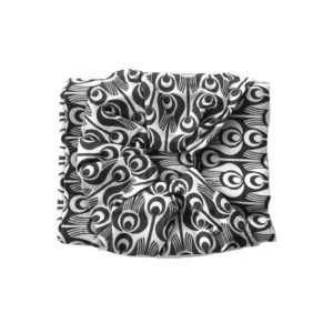 sling noir et blanc pour porter bébé sans sacrifier son look
