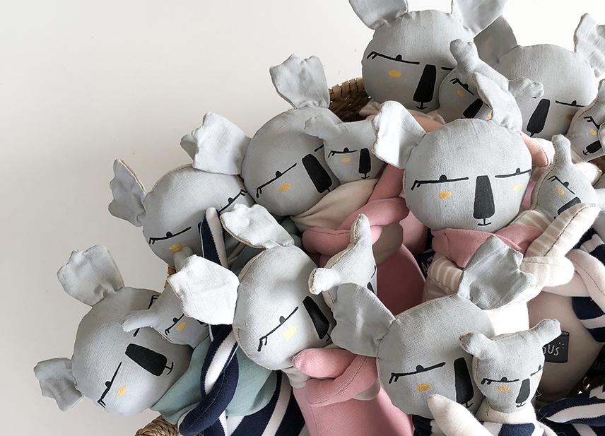 doudou koala june 22 et atelier angus en exclu sur Nova mom
