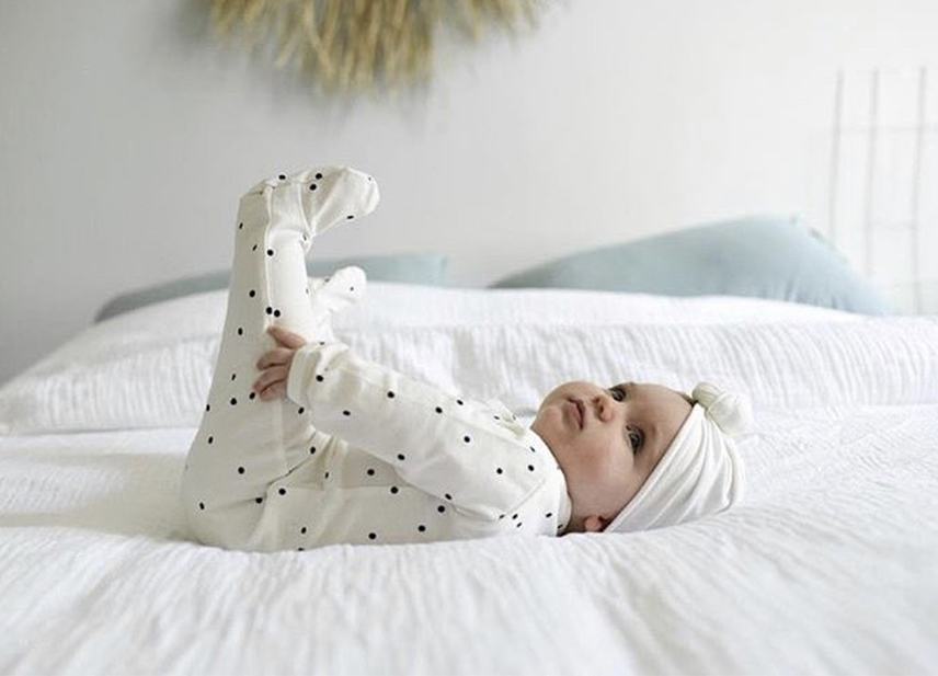 joli turban pour bébé sur nova mom