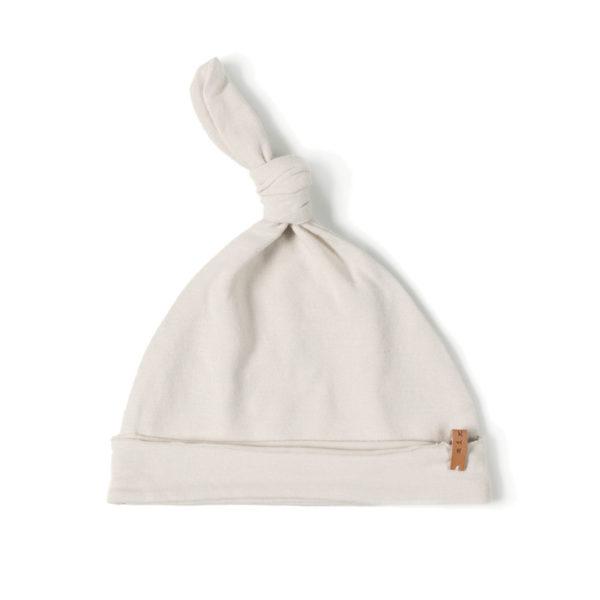 bonnet de naissance bébé en coton bio