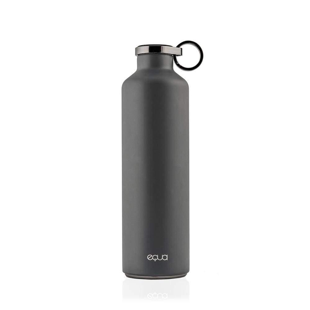 bouteille isotherme minimaliste black mixte