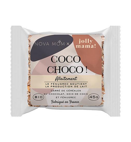 snacks qui favorisent la lactation au chocolat et a la noix de coco