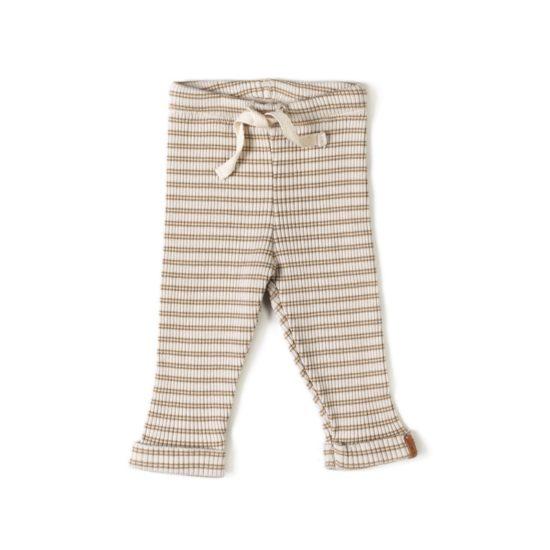 legging confortable côtelé bébé