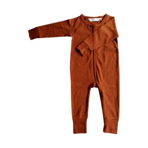 Combinaison à zip sans pieds bébé unisexe