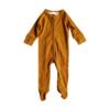 Combinaison à zip avec pieds bébé avec pied confortable