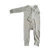 Combinaison à zip sans pieds Tenue bébé unisexe coton