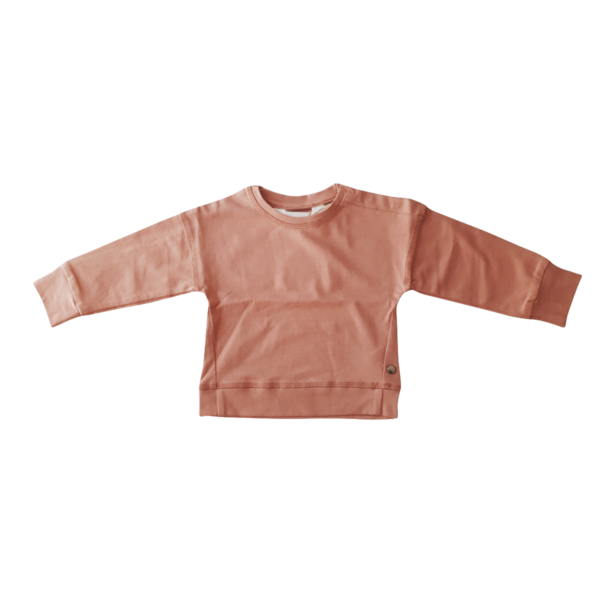 Pullover bébé unisexe en coton