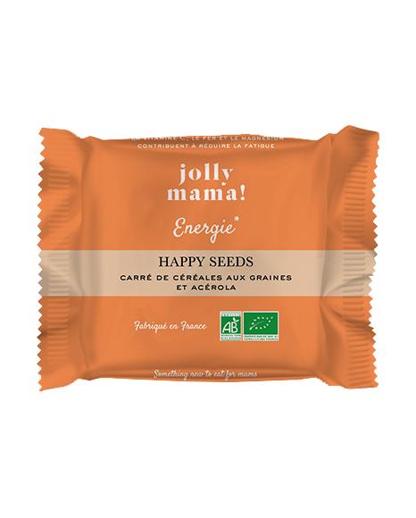 Happy seeds snacks jolly mama pour la grossesse et l'allaitement