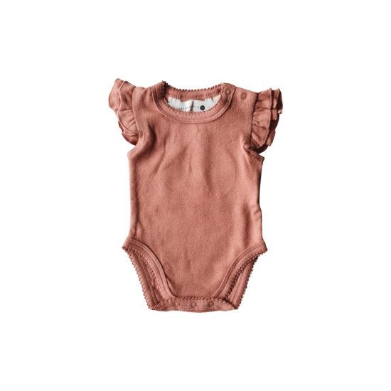 Body à volants combinaison bébé