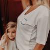 tee shirt allaitement jeune maman