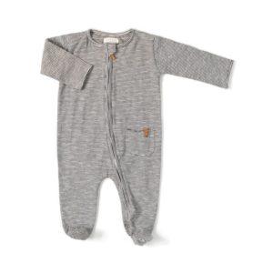 pyjama mixte rayure facile a mettre