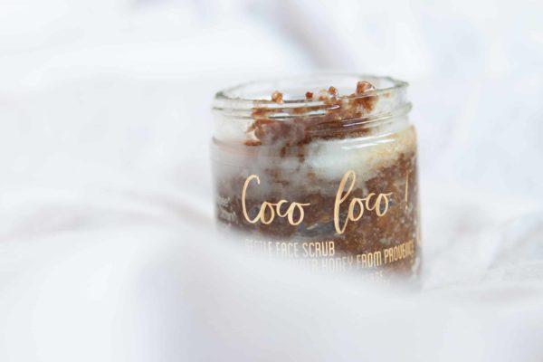 gommage à la noix de coco