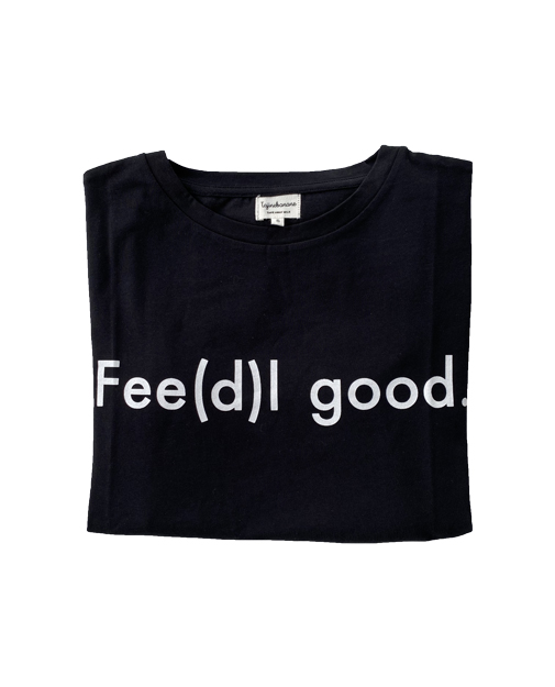 Tee-shirt d'allaitement Fee(d)l good