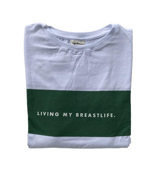 Tee-shirt d'allaitement Living My Breastlife