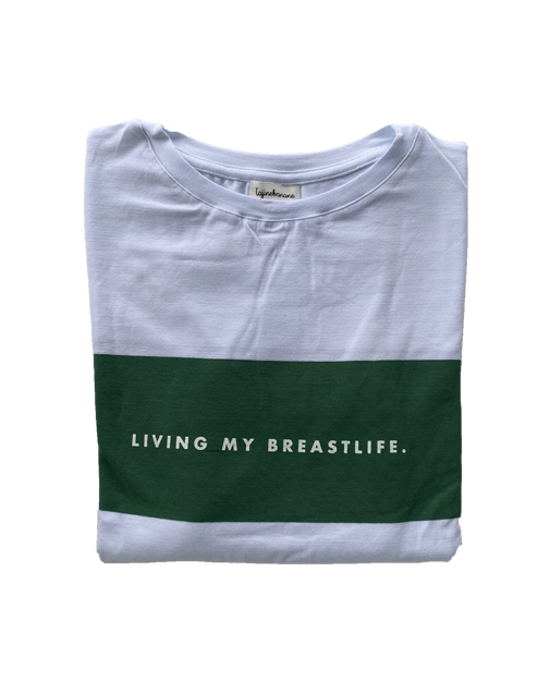 Tee-shirt d'allaitement Living My Breastlife