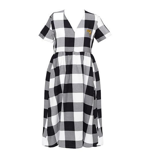 L'appétit'robe Vichy robe d'allaitement