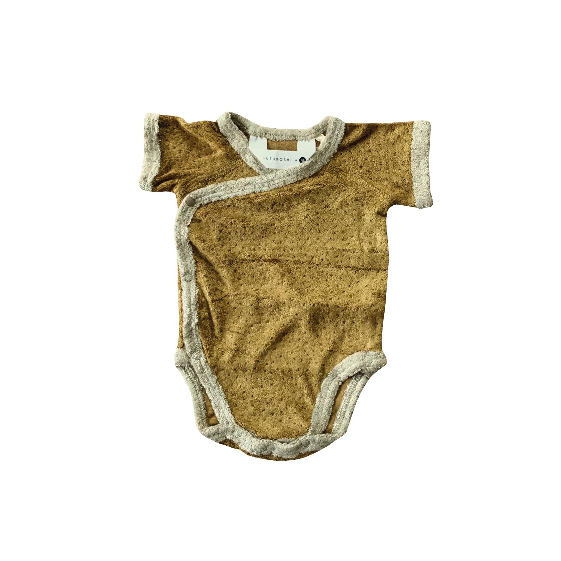 Body teddy kimono manches courtes