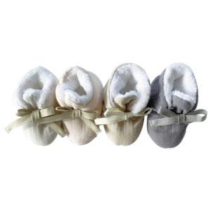 chaussons fourrés bébé