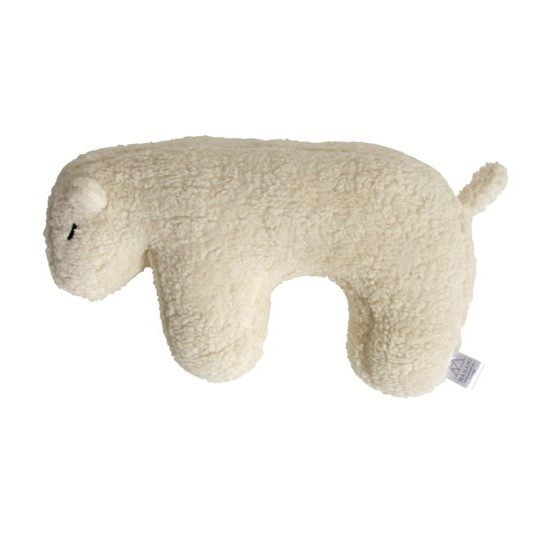 coussin peluche ours polaire