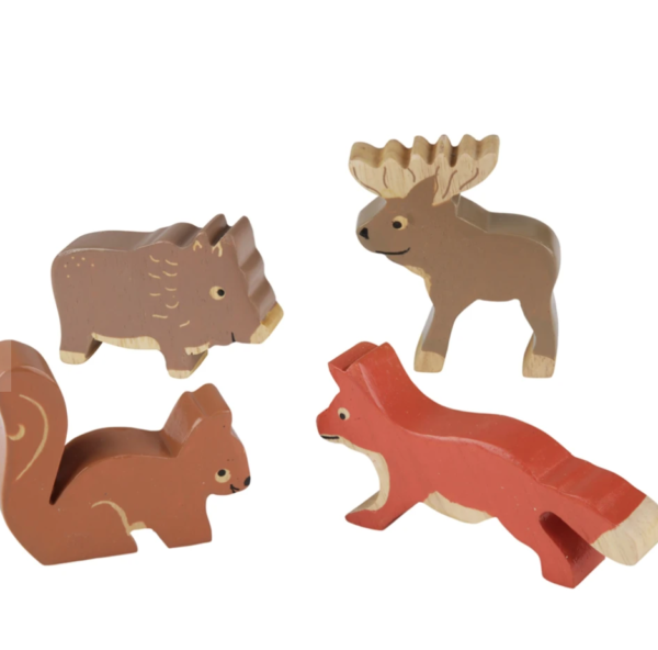 figurines animaux de la forêt