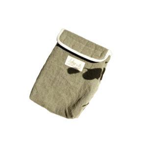 Lunch bag - pochette isotherme en lin